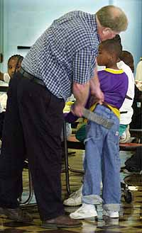 Texas School District Permits Paddling For Bad Behaviour